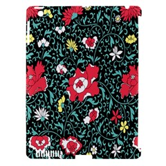 Vintage Floral Wallpaper Background Apple iPad 3/4 Hardshell Case (Compatible with Smart Cover)