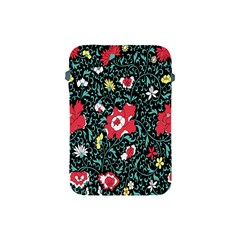 Vintage Floral Wallpaper Background Apple iPad Mini Protective Soft Cases