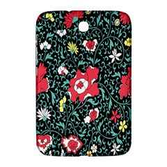 Vintage Floral Wallpaper Background Samsung Galaxy Note 8.0 N5100 Hardshell Case
