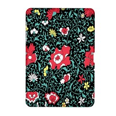 Vintage Floral Wallpaper Background Samsung Galaxy Tab 2 (10 1 ) P5100 Hardshell Case