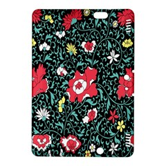 Vintage Floral Wallpaper Background Kindle Fire HDX 8.9  Hardshell Case