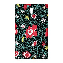 Vintage Floral Wallpaper Background Samsung Galaxy Tab S (8 4 ) Hardshell Case