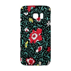 Vintage Floral Wallpaper Background Galaxy S6 Edge