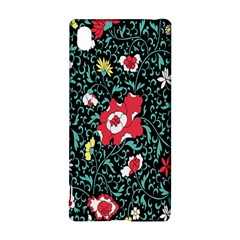Vintage Floral Wallpaper Background Sony Xperia Z3+