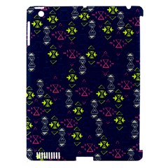 Vintage Unique Pattern Apple iPad 3/4 Hardshell Case (Compatible with Smart Cover)