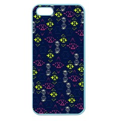 Vintage Unique Pattern Apple Seamless Iphone 5 Case (color)