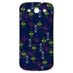 Vintage Unique Pattern Samsung Galaxy S3 S III Classic Hardshell Back Case