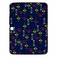 Vintage Unique Pattern Samsung Galaxy Tab 3 (10.1 ) P5200 Hardshell Case