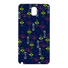 Vintage Unique Pattern Samsung Galaxy Note 3 N9005 Hardshell Back Case