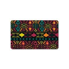 Traditional Art Ethnic Pattern Magnet (name Card)