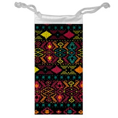 Traditional Art Ethnic Pattern Jewelry Bag
