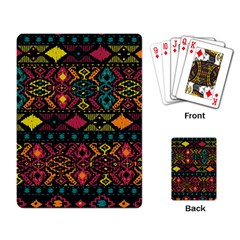 Traditional Art Ethnic Pattern Playing Card