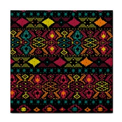 Traditional Art Ethnic Pattern Face Towel