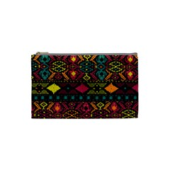 Traditional Art Ethnic Pattern Cosmetic Bag (Small)