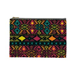 Traditional Art Ethnic Pattern Cosmetic Bag (Large)