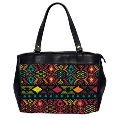 Traditional Art Ethnic Pattern Office Handbags (2 Sides)