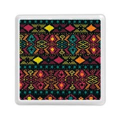 Traditional Art Ethnic Pattern Memory Card Reader (square)