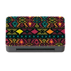 Traditional Art Ethnic Pattern Memory Card Reader with CF