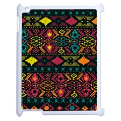 Traditional Art Ethnic Pattern Apple Ipad 2 Case (white)