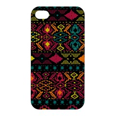 Traditional Art Ethnic Pattern Apple iPhone 4/4S Premium Hardshell Case