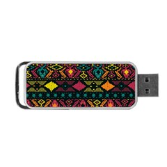 Traditional Art Ethnic Pattern Portable Usb Flash (two Sides)