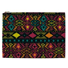 Traditional Art Ethnic Pattern Cosmetic Bag (XXL)