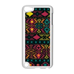 Traditional Art Ethnic Pattern Apple iPod Touch 5 Case (White)