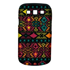 Traditional Art Ethnic Pattern Samsung Galaxy S III Classic Hardshell Case (PC+Silicone)