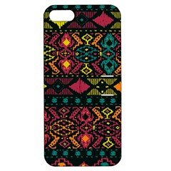 Traditional Art Ethnic Pattern Apple iPhone 5 Hardshell Case with Stand