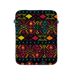 Traditional Art Ethnic Pattern Apple iPad 2/3/4 Protective Soft Cases