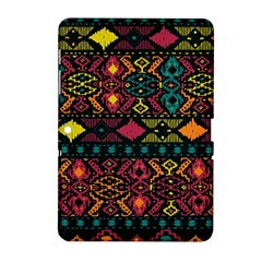 Traditional Art Ethnic Pattern Samsung Galaxy Tab 2 (10.1 ) P5100 Hardshell Case