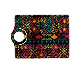 Traditional Art Ethnic Pattern Kindle Fire HD (2013) Flip 360 Case