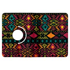Traditional Art Ethnic Pattern Kindle Fire HDX Flip 360 Case
