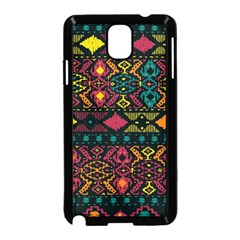 Traditional Art Ethnic Pattern Samsung Galaxy Note 3 Neo Hardshell Case (Black)