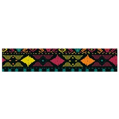Traditional Art Ethnic Pattern Flano Scarf (Small)