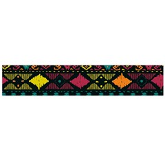 Traditional Art Ethnic Pattern Flano Scarf (large)
