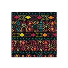 Traditional Art Ethnic Pattern Satin Bandana Scarf