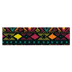 Traditional Art Ethnic Pattern Satin Scarf (oblong)
