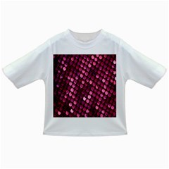 Red Circular Pattern Background Infant/Toddler T-Shirts