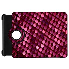 Red Circular Pattern Background Kindle Fire HD 7