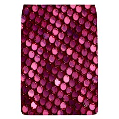 Red Circular Pattern Background Flap Covers (s)