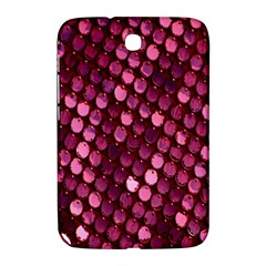 Red Circular Pattern Background Samsung Galaxy Note 8.0 N5100 Hardshell Case