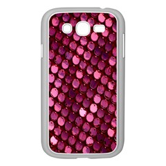 Red Circular Pattern Background Samsung Galaxy Grand DUOS I9082 Case (White)