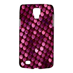 Red Circular Pattern Background Galaxy S4 Active