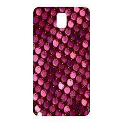 Red Circular Pattern Background Samsung Galaxy Note 3 N9005 Hardshell Back Case