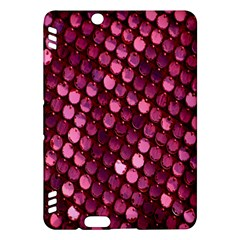 Red Circular Pattern Background Kindle Fire HDX Hardshell Case