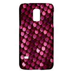 Red Circular Pattern Background Galaxy S5 Mini