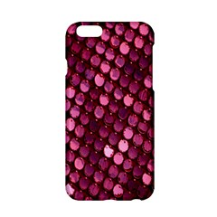 Red Circular Pattern Background Apple iPhone 6/6S Hardshell Case