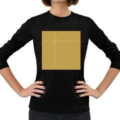 Brown Paper Packages Women s Long Sleeve Dark T-Shirts