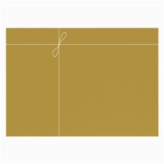 Brown Paper Packages Large Glasses Cloth